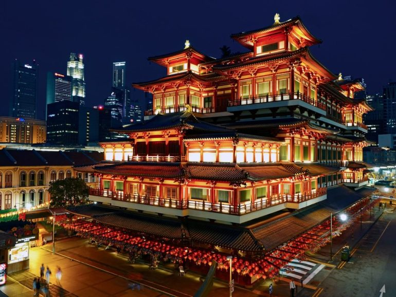 widok singapur azja