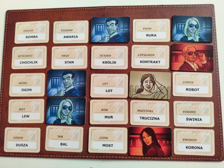 tajniacy gra planszowa karty