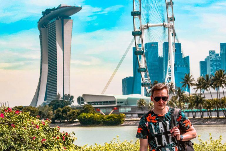 Singapur krajobraz