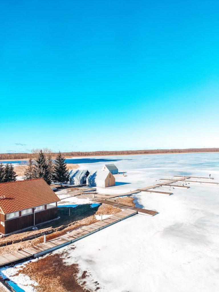 jezioro ros widok