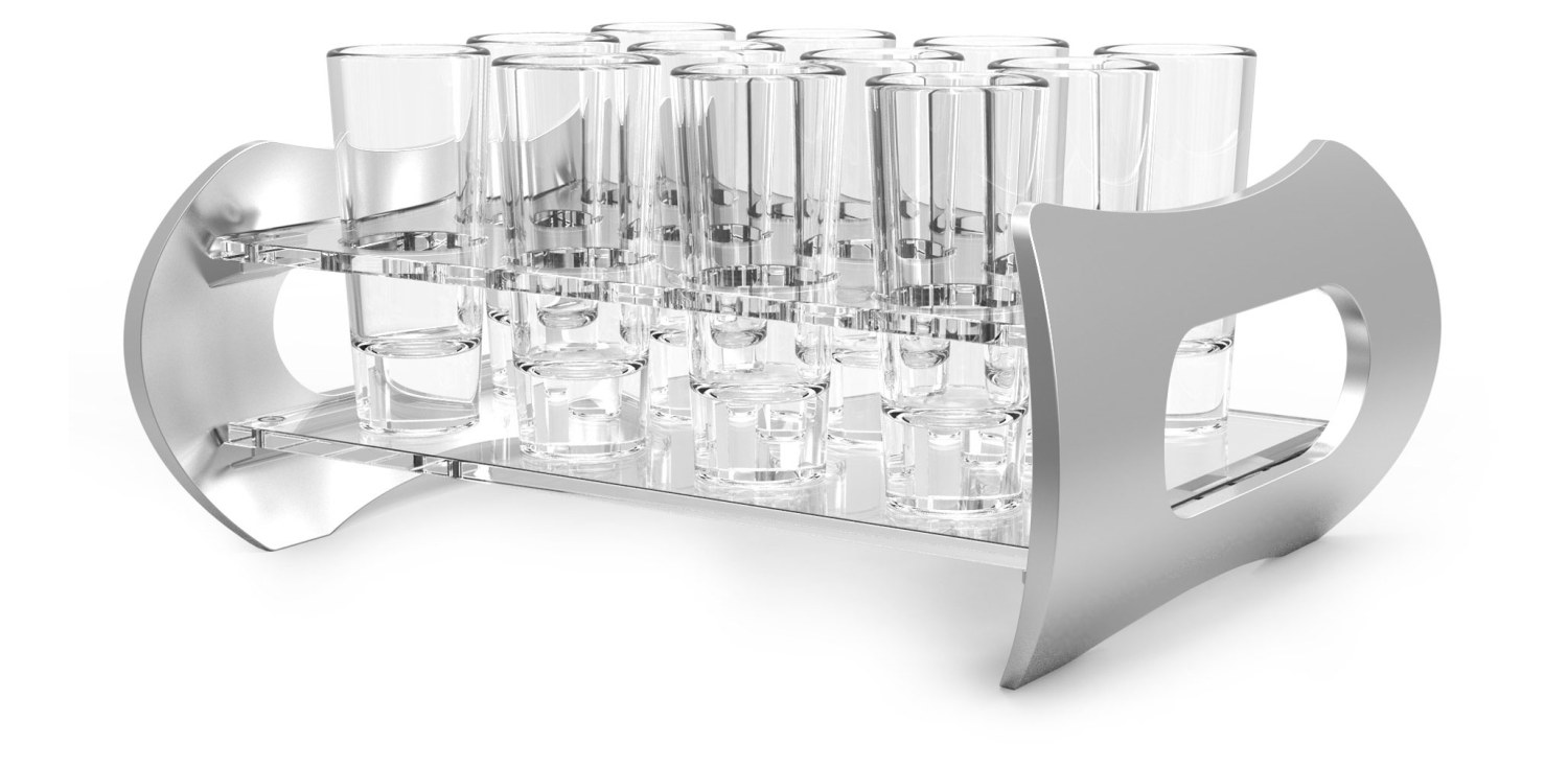 Shot Glass Holder - 12 Shots