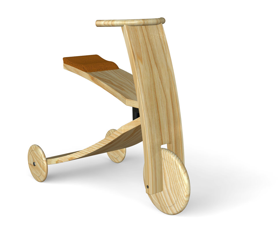 Tridle Scandinavian ride-on toy