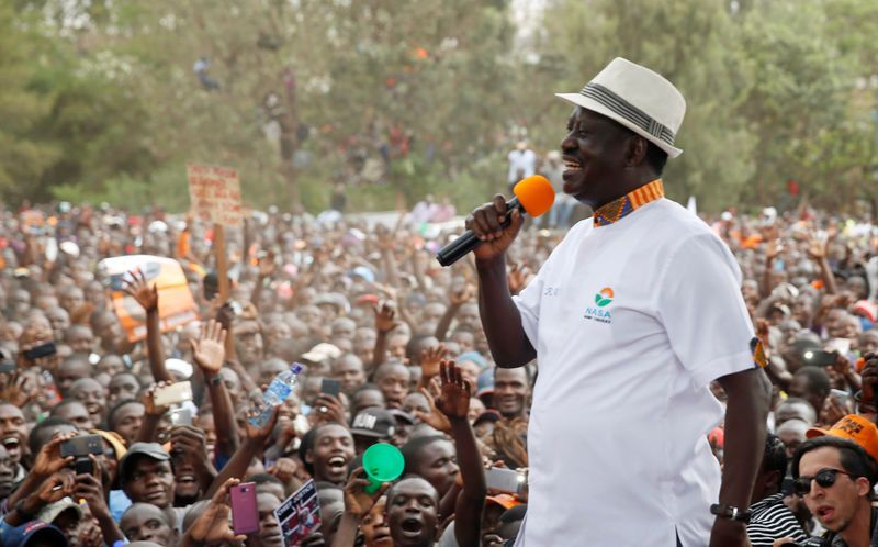 Kenya: Odinga appelle à ne pas manifester le jour du scrutin