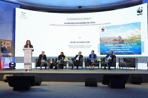 Les Eaux Minérales d'Oulmès et WWF Maroc organisent une conférence-débat au Musée Mohammed VI pour la Civilisation de l'Eau.