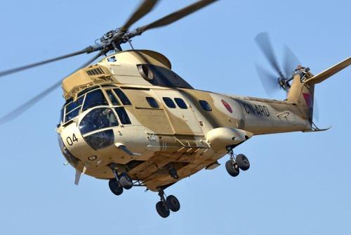 Un hélicoptère des FAR s'abîme au cours d'un exercice dans une zone de manœuvre militaire au sud d'Errachidia, les pilotes indemnes