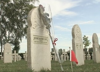 Cérémonie en hommage aux soldats marocains tombés lors de la bataille de Gembloux-Chastre