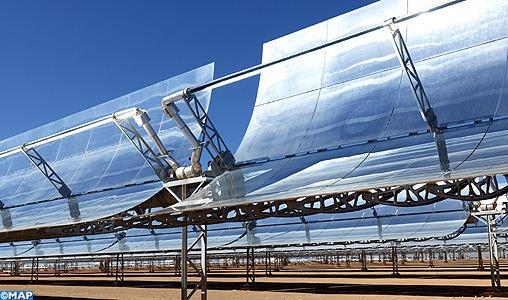 Un financement additionnel de 125 millions de dollars pour le complexe solaire marocain Noor Midelt