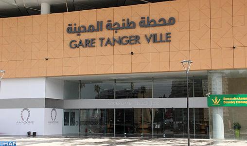 La nouvelle gare ferroviaire de Tanger-Ville, un repère urbain majeur et attractif