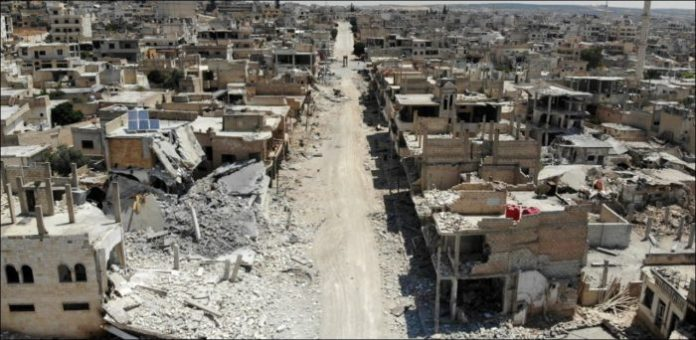 Syria: Idleb air raid stops after ceasefire comes into force