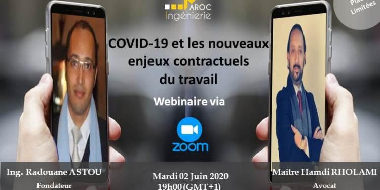 COVID-19 et les nouveaux enjeux contractuels du travail