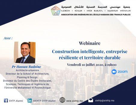 Construction intelligente, entreprise résiliente et territoire durable