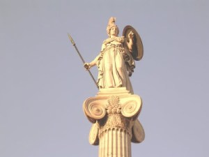 Athéna, Déesse libyenne de Tritonie