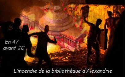 Incendie--bibliotheque--alexandrie--maroudiji
