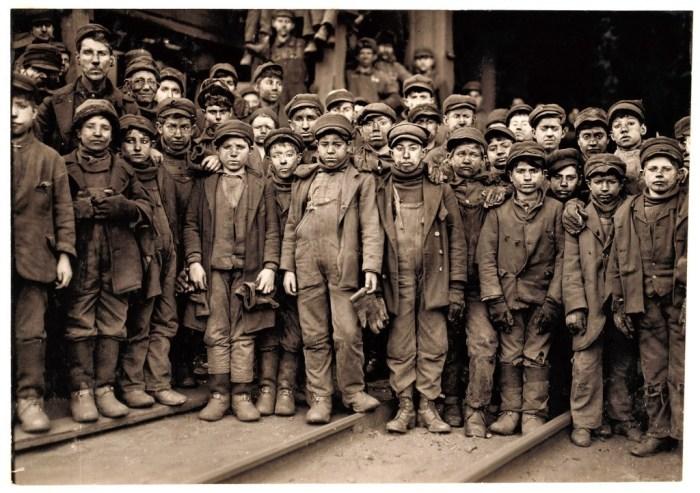 enfants mineurs américains