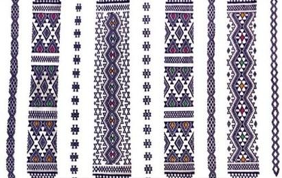 Motifs tapis kabyle