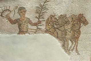 Aurige vainqueur, ive siècle