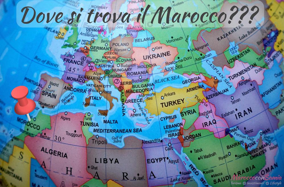 Dove Si Trova Il Marocco Cartina.Tra Maghreb E Africa Dove Si Trova Il Marocco