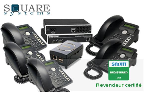 Kit de téléphonie IP professionnel avec plus de 4700dhs de remise chez Square System!