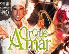 Cirque Amar: Passez un Moment Magique en famille ou entre amis au Cirque Amar à seulement 80dhs!
