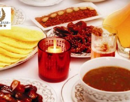 Ramadan: Célébrez le Mois Sacré avec un F'tour à seulement 110dhs au Restaurant Hôtel César Tanger!