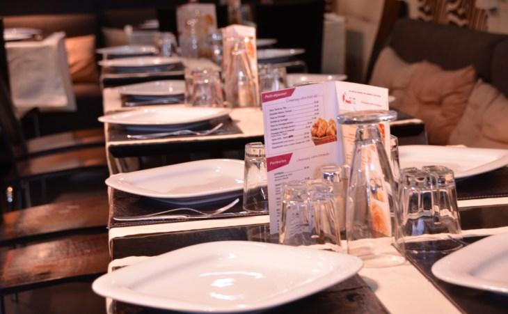 déjeuner ou dîner de luxe au Restaurant LE BASMALA