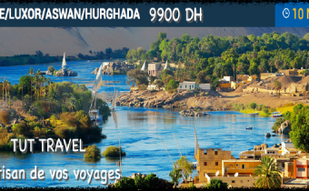 Egypte: Caire/luxor/Aswan/ Hurghada 11jours