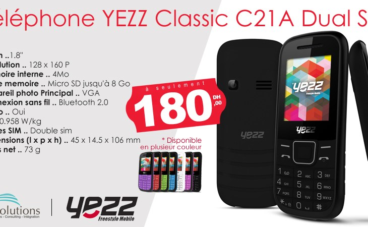 Tel Mobile Yezz Dual Sim