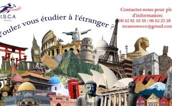 Voulez vous étudier à l'étranger?