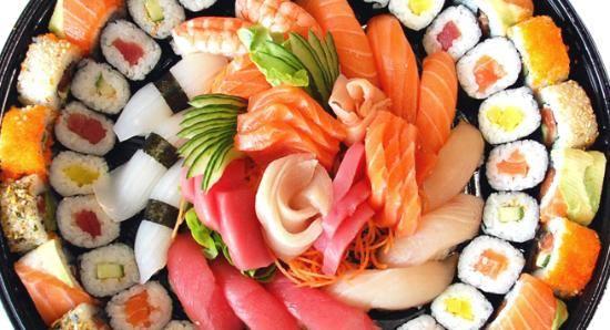 36 pièces variées de sushis à 99 DH au lieu de 180 DH – livraison gratuite