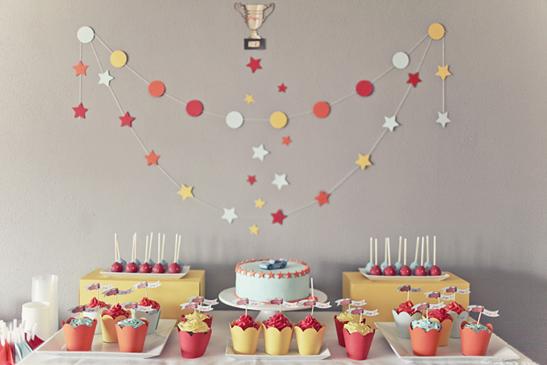 Buffet d'anniversaire