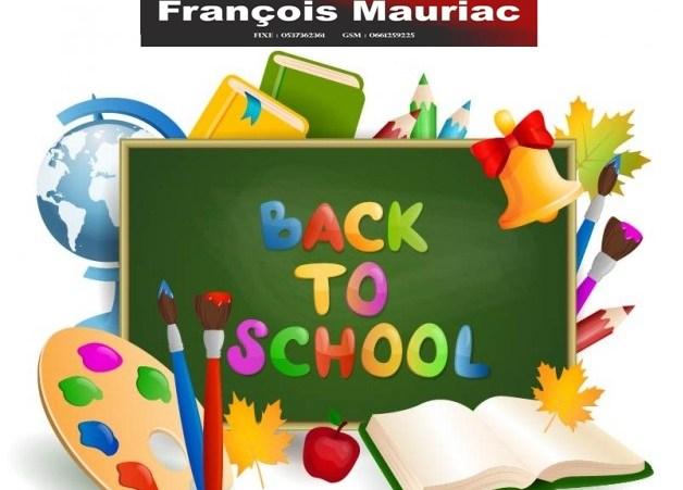L'école François Mauriac crèche et maternelle