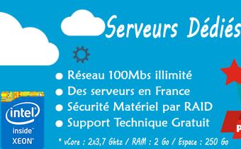 Serveur Dédié VPS avec traffic illimité à seulement 199Dhs/Mois* !