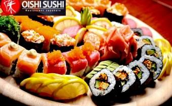 assortiment de 32 piéces de sushi