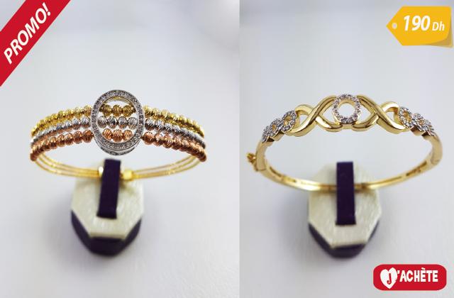 Bracelets de luxe offre fin d'année