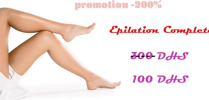 Promotion Epilation Complete