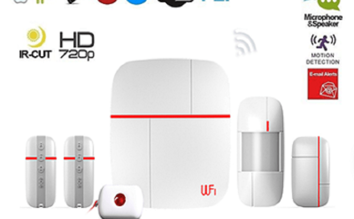 Kit Alarme sans fil wifi