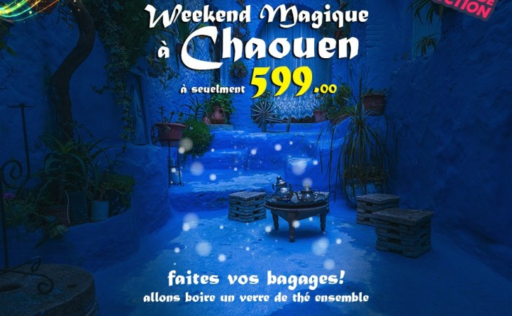 Voyage a chefchaouen / chaoen ( week-end )