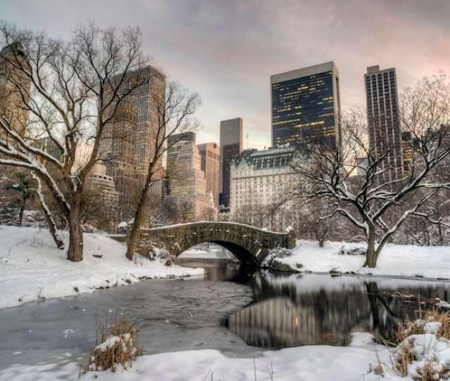 White Christmas In New York City