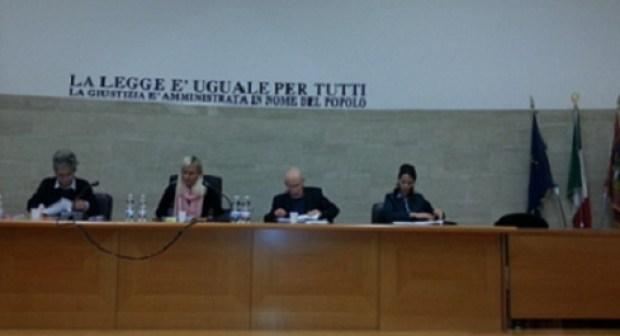 الدكتورة بدران كوثر تطرح تطبيق مدونة الأسرة المغربية بالمحاكم في أول لقاء مع كبار القضاة الإيطاليين