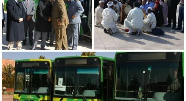 أسطول للنقل الحضري بورزازات