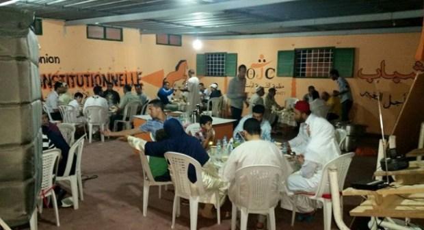 الكتابة المحلية  لحزب الاتحاد الدستوري بانزكان تنظم افطار جماعيا