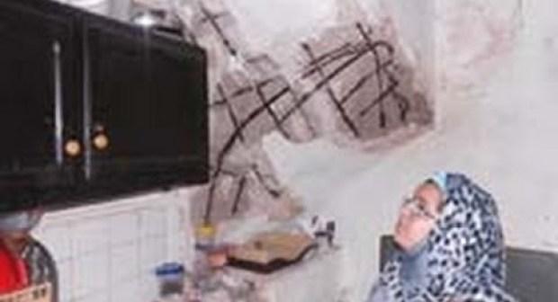 فيديو: تفاصيل انهيار منزل بالمدينة القديمة بالبيضاء