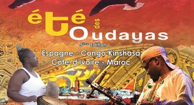 Festival International des Arts et de la Culture « Eté des Oudayas »-2015 Du 27 juillet au 1er août « La Kasbah des Oudayas accueille l'art africain et le Flamenco espagnol »