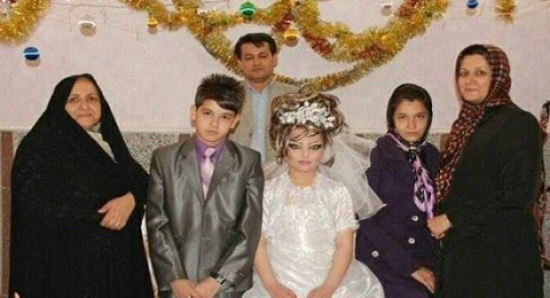 صور صادمة توثق زواج طفلين لم يتعديا الثالثة عشرة