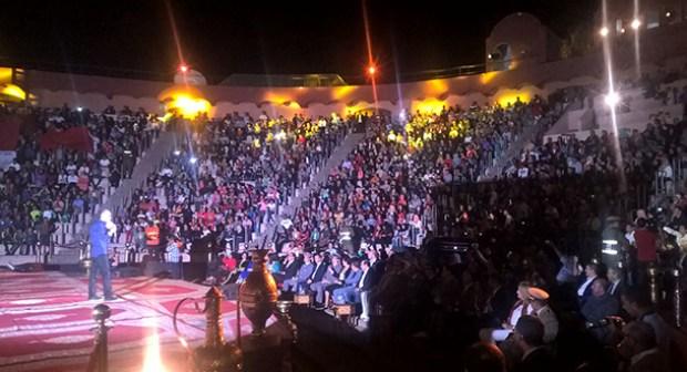 مجلس الجالية المغربية بالخارج تحتفل بعيد المسيرة الخضراء بقلب مدينة أكادير