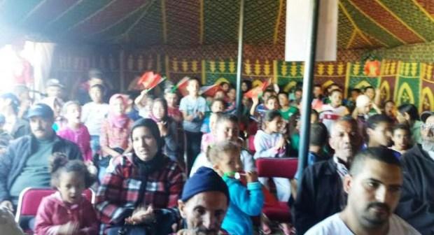 جمعية أمل السدرة للتنمية والتضامن تشارك المغاربة احتفالاتهم بالذكرى 40 للمسيرة الخضراء