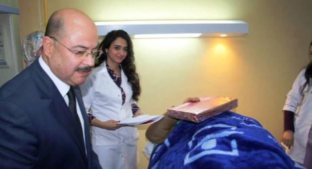 تنغير:عامل الاقليم الجديد في زيارة ميدانية للمستشفى العسكري بامسمرير