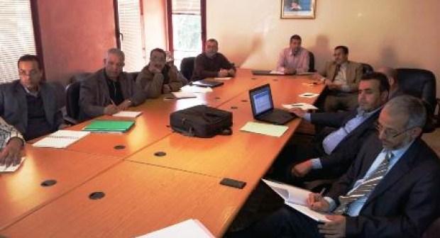 وضعية قطاع التعليم بعمالة انزكان ايت ملول محور اجتماع مع أعضاء لجنة من مجلس  العمالة