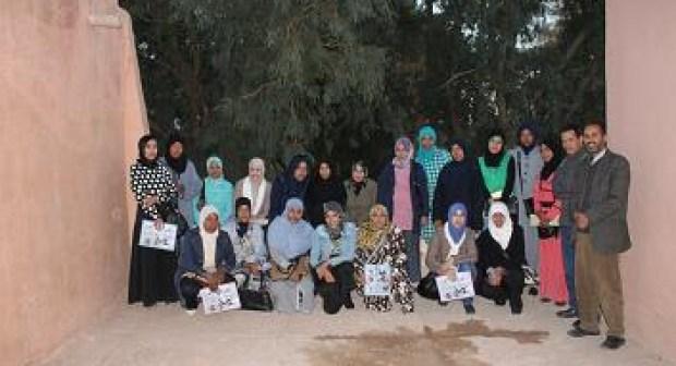 جمعية الواحة للثقافة والتربية والتنمية الاجتماعية دورة تكوينية لفائدة مربيات التعليم الأولي