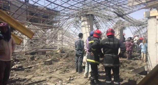 عاجل: عامل بناء يلقى حتفه وأربعة آخرون يصابون في انهيار سقف بورش بناء بفونتي أكادير